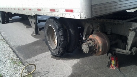 Semi Rear Tires, Mobile tire Service, Glendale, AZ